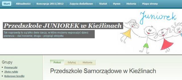 Przedszkole Juniorek w Kieźlinach