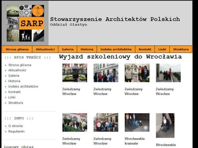 Stowarzyszenie Architektów Polskich oddział w Olsztynie